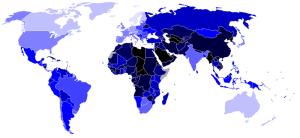 Economist Democracy Index 2008