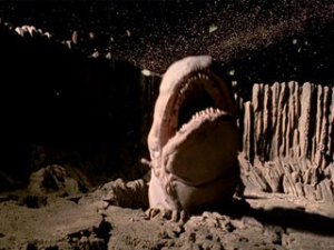 Movie monsters and astrobiology