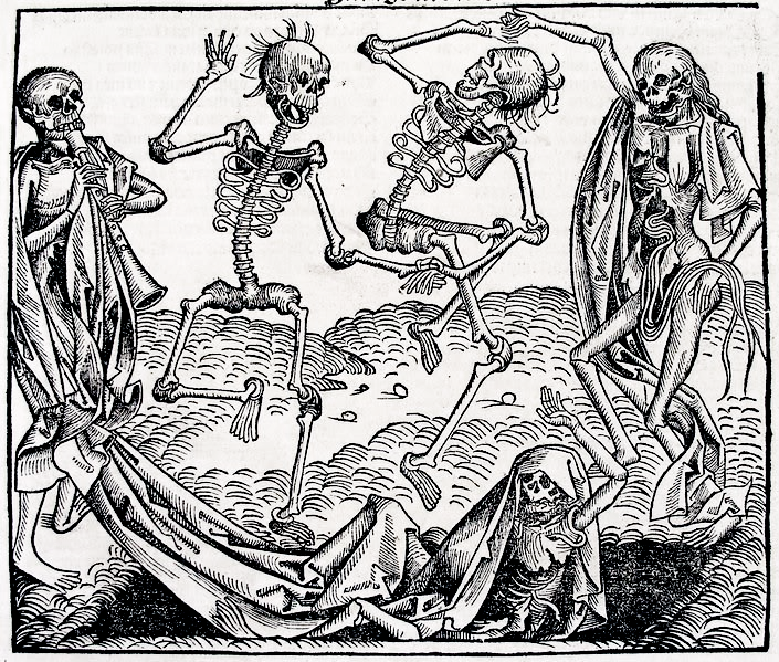 Ok, this is supposed to be macabre, but I can't help finding it cute and adorable. Just look how happy they are, with their little tufts of hair and their intestines hanging out! OK, I get it; I'm probably sick.