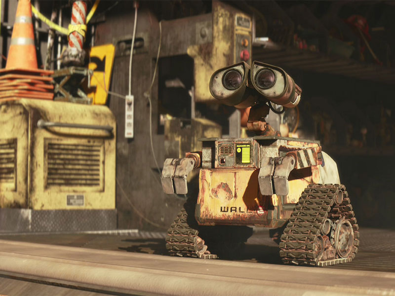 How come Wall-E is so adorable? After all, he's just a pile of machine parts.
