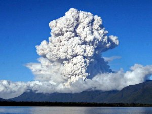 What the Toba super-eruption could have looked like.