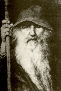 """Why is everyone calling me Gandalf? I'm Odin the wise!"""