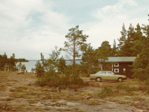 Our summer cottage - it looks more or less the same today, 40 years later.
