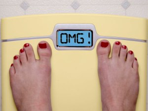 Don't listen you your bathroom scale; it's just being melodramatic.