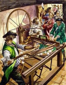 Luddites - fighting progress since 1812.