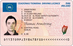 This will soon be a rare sight: a young person with a driver's licence.